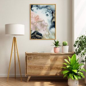 Abstract Watercolour   Print   Stretched Canvas or Printed Panel