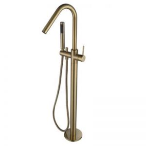 Accent Bath | Freestanding Bath Mixer PVD Brushed Bronze