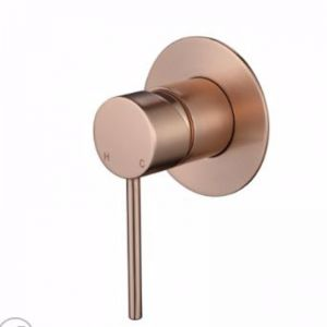 Accent Bath Star Shower Mixer | Flemish Copper