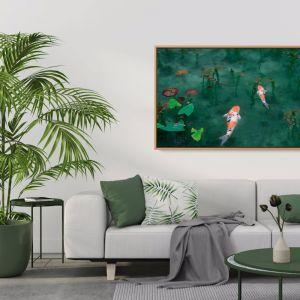 Acting Koi |Koi Fish Original Artwork Print