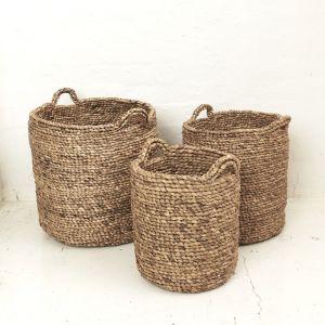 Adaline Waterhyacinth Basket l Pre Order