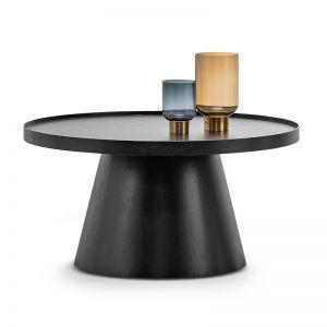 Adan Round Coffee Table | Black