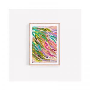 Adelaide Falling Gum Eucalyptus Abstract Contemporary Australian | Fine Art Print