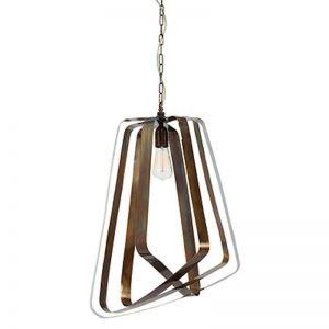 Adele Brass Pendant | Arteriors Lighting | by Boyd Blue