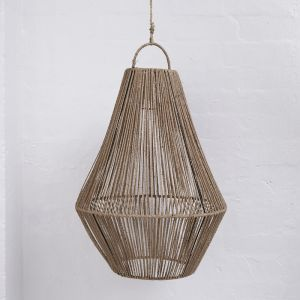 Adi Teardrop Jute Light Shade in Natural l Pre Order