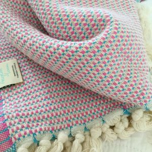 Aegean Loom Sorrento Pestemal Towel | Pink