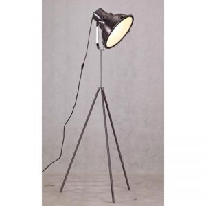 Aeolus Floor Lamp | Metallic Black