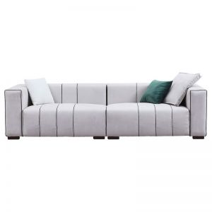 Aeri 3 Seater Sofa | Frosted Linen