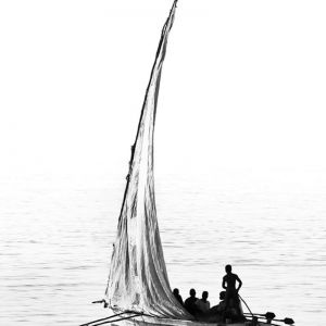 African Dhow Reflection | Fine Art Photography by Africanologie