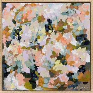 Afternoon Delight | Framed Canvas Print | Prudence De Marchi