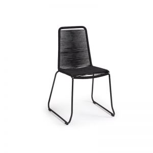 Aga Patio Chair | Black | CLU Living