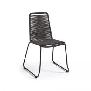 Aga Patio Chair | Charcoal | CLU Living