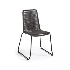 Aga Patio Chair | Dark Grey | CLU Living