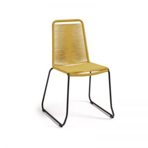 Aga Patio Chair | Mustard | CLU Living