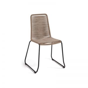 Aga Patio Chair | Tan | CLU Living