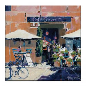 Al Fresco - Aixen Provence | Canvas or Art Print | Framed or Unframed