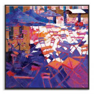 Al Fresco Late | Canvas or Art Print | Framed or Unframed