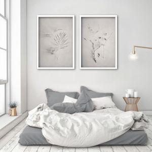 Alabaster Forest 1 | Set of 2 Art Prints | Framed or Unframed