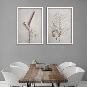 Alabaster Forest 2 | Set of 2 Art Prints | Framed or Unframed