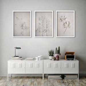 Alabaster Forest A2 | Set of 3 Art Prints | Framed or Unframed