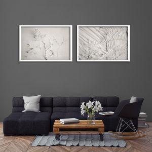Alabaster Forest LS | Set of 2 Art Prints | Framed or Unframed