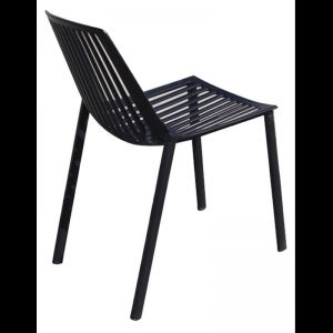 Alby Chair | Aluminium | Black