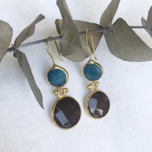 Aleka Double Drop Earrings