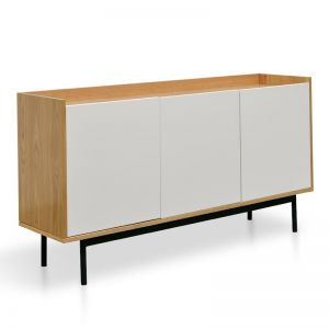 Alenzo Sideboard and Buffet | White and Natural | Interior Secrets