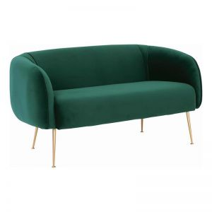 ALERO 2 Seater Sofa | Dark Green