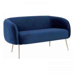 ALERO 2 Seater Sofa | Midnight Blue