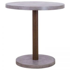 Alfons Concrete Bar Table | Dark Grey | 90cm | Schots