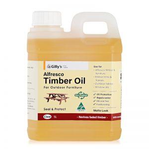Alfresco Timber Oil Clear 1L