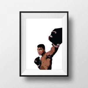 Ali   Art Print   Framed and Unframed
