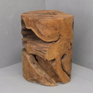 Alin Natural Tree Stump Stool l Pre Order