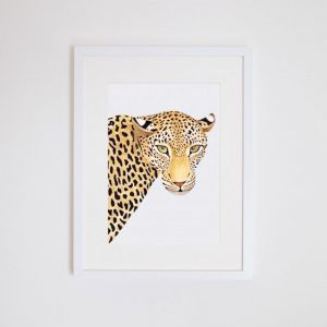 Alison the Leopard Giclee Print | by For Me By Dee