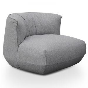 Alita Lounge Chair | Light Grey