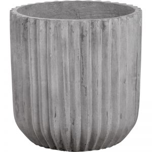 Allure 50x50cm Concrete Planter | Stone Wash Grey | Schots