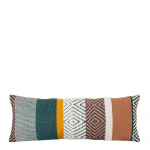 Almeria Cushion | 35x90cm | Green Multi