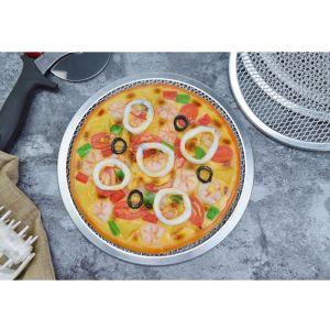 Aluminium Nonstick Commercial Grade Pizza Baking Pan