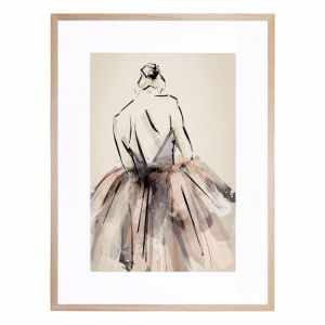 Always Ballet | Framed Print by United Interiors & Alisa and Lysandra