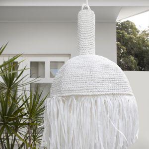 Amalfi Pendant Large | White | by Fifty Shades Interiors