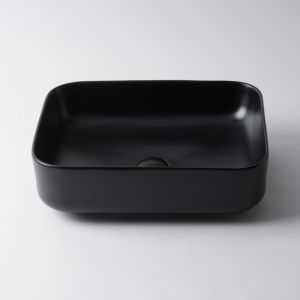 Amaroo Small Rectangle by Eight Quarters I Matte Black