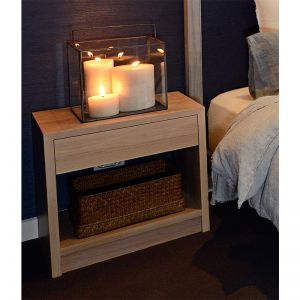 American Oak Bedside Table | by Christian Cole