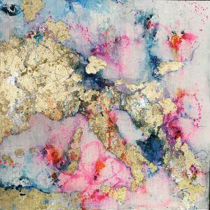 Amour Sans Frontières | Original Artwork by Melissa LaBozzetta.