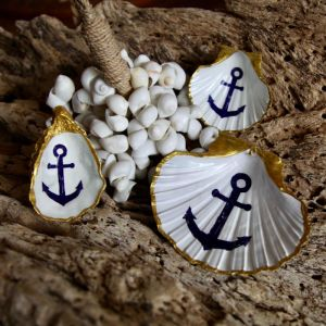 Anchor | Oyster | by Seashells & Co.