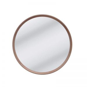 Anderson Round Mirror | Natural Oak |  80 cm