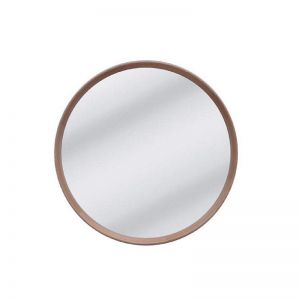Anderson Round Mirror | Natural Oak