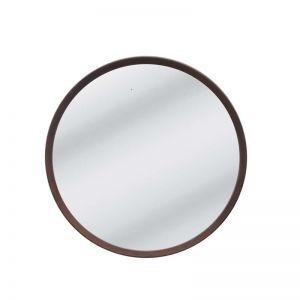 Anderson Round Mirror | Walnut