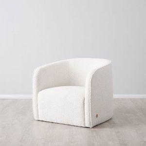 Andy Club Chair | Fabric | Neutral