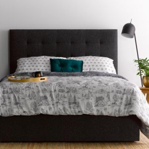 Andy's charcoal bedhead | by Billy's Beds